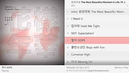Bts - The Most Beautiful Moment In Life, Pt. 1