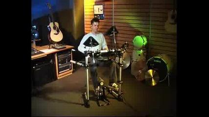 Yamaha - Electronic Drums Dtxplorer