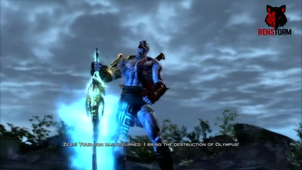 God of War 3 - Kratos полудява - |ps3|