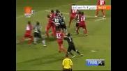 Спортинг елиминира Твенте в последната минута с гол на вратаря си Руй Патрицио