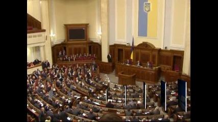 Украинският парламент избра Микола Азаров за премиер на фона на сблъсъци между депутатите