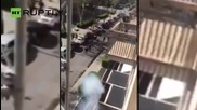 Italian Football Hooligans Battle On Streets of Palermo