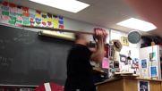 Учител по история откача