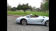 16 Годишни лапета карат Lamborghini Gallardo