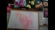 Как се рисуват рози-демонстрация от Adisorn Pornsirikarn (акварел) част 3/5