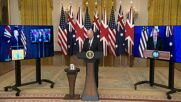 USA: Biden calls Australian PM 'that fella down under' forgetting his name in historic pact address