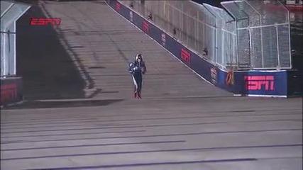 Скокът на Travis Pastrana 269 feet in rally car (hq)
