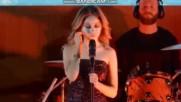 Karol Sevilla Hp live+ превод на Contigo en la distancia ; Grasias por estar