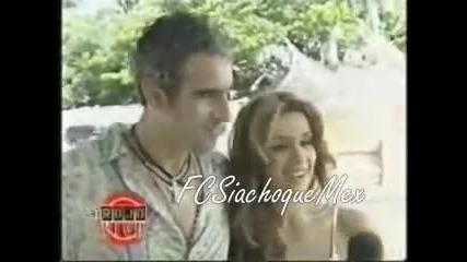Catherine Siachoque y Miguel Varoni en Puerto Rico - Al Rojo Vivo