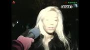 Емилия псува в ефир