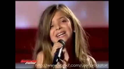 10 годишно момиченце - магия ( Caroline Costa)