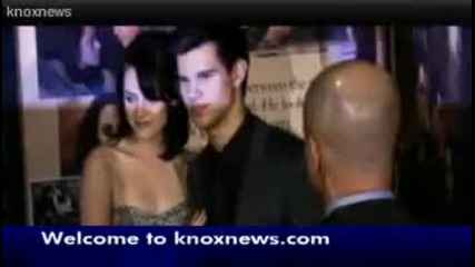 Kristen Stewart and Taylor Lautners Appearance in Knoxville Tn