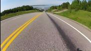 Световен Рекорд ! 130 км/ч със скейтбоърд !