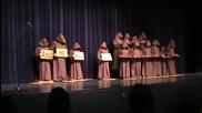 Мълчаливи монаси пеят Halleluia