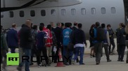 Italy: First asylum seekers flown to Sweden as part of EU refugee relocation plan