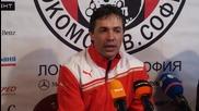 Антон Велков: Сърцето е основата на нашия отбор