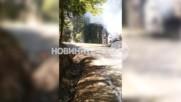Автобус с 31 деца се е запалил до Боровец