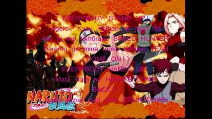 Naruto Shippuuden Opening 1 Full (lyrics)
