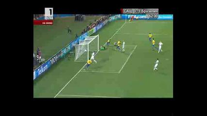 Сащ 0 - 3 Бразилия гол на Майкон