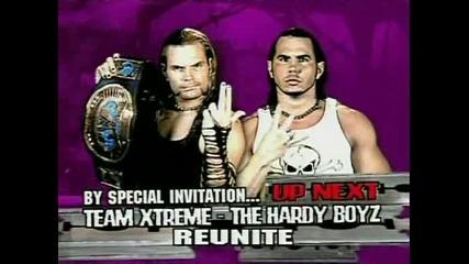 Hardy Boyz vs F. B . I Ecw 21.11.2006