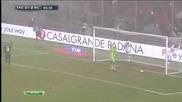 Доменико Берарди от Сасуоло отбелязва 4 гола на Милан