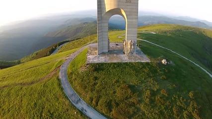 Виж България от високо! Арката на свободата, Троянски проход ( Беклемето )