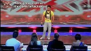 Поредното невероятно изпълнение в The X Factor 2009