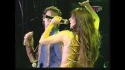 Ceca i Zeljko Sasic - Ko na grani jabuka - (LIVE) - (Marakana) - (TV Pink 2002)
