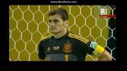 Испания 7-6 Италия,след изпълнение на дузпи