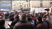 Протести в Пловдив против връщането на Куршум джамия на мюфтийството