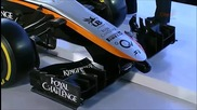 Sahara Force India F1 Team- 2015 Official Car Launch Vjm08 2015 Design
