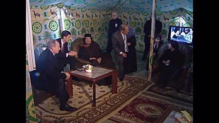 10 years since killing of former Libyan leader Muammar Gaddafi *ARCHIVE*