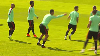 France: Ronaldo leads Portugal training ahead of Poland quarter-final game