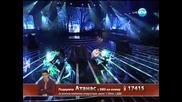 За пореден път доказва,че може да пее! Атанас Колев - X Factor 12.12.2013