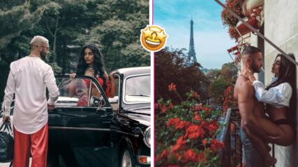 Сладка романтика: Ина Гаярдо и половинката ѝ в страстни снимки от Париж
