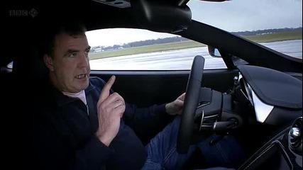 Top Gear - Mclaren Mp4-12c срещу Ferrari 458