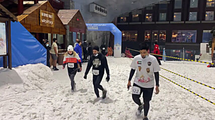 UAE: Dubai organises first ever indoors snow run in Middle East