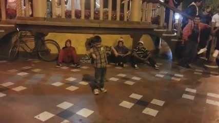 6 Year Old Dancing To Dubstep _ Nonstop Junior