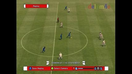 Pes 2011 феноменален гол на Гаджев от центъра още в 5 секунда !!!