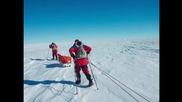 Ray Zahab treks to the South Pole