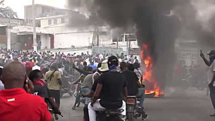 Haiti: Protesting police and army exchange fire amid rising tensions over wages