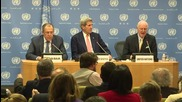 USA: 'Syrians must ultimately decide the future of Syria' - Kerry