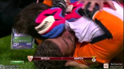 Финал! Севиля - Бенфика - 0:0 (4:2 след дузпи)
