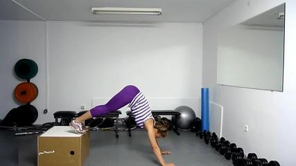 Трениране - Тренировка със Собствено тегло за Стегнати крака - Fit Camp
