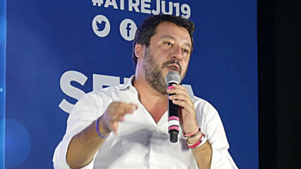 Italy: Salvini blasts current government at 'Atreju' far-right meeting