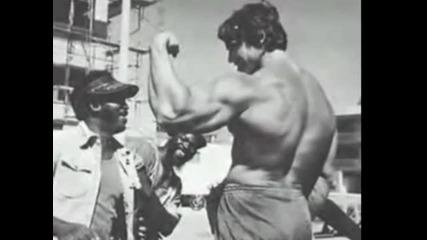 Arnold Schwarzenegger biceps