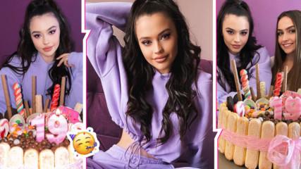 Една принцеса на 19 г.: Десита празнува рожден ден с карантинено парти и уникална торта