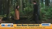 New Moon Soundtrack - Paramore Вън, Kelly Clarkson Ги Замества