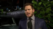 Chris Pratt Stars At LA Premiere of 'Jurassic World'