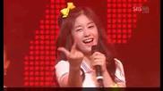 Seeya + Davichi T - Ara - Womans Generation [sbs Inkigayo 090621]